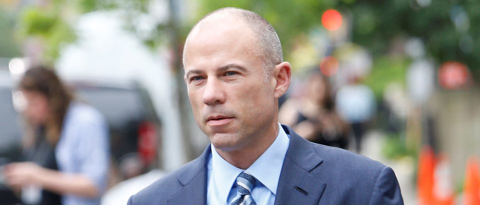 Michael Avenatti, the attorney of adult-film star Stephanie Clifford, known as Stormy Daniels, arrives at federal court in Manhattan