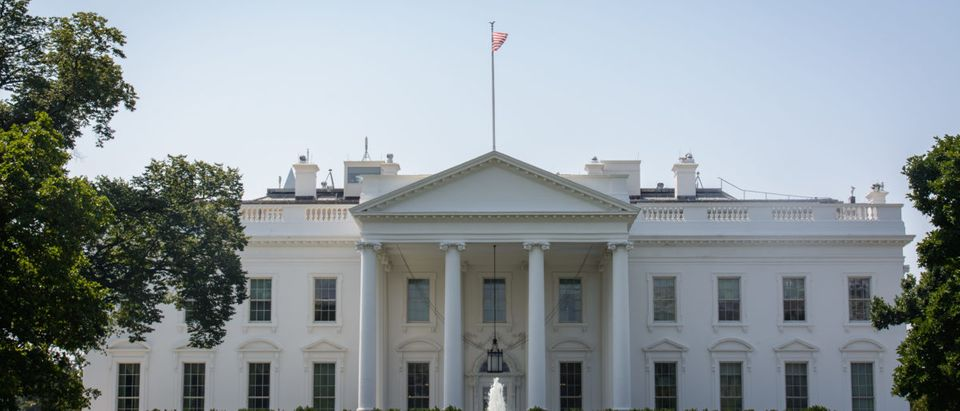 The White House is located in Washington, D.C. Shutterstock image via user David Eastwell