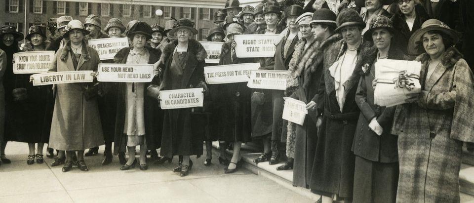 Suffragettes/ Shutterstock