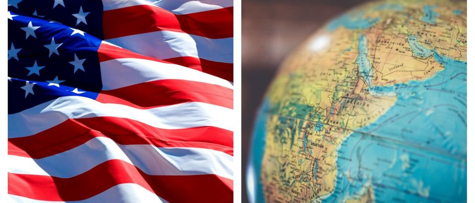 A majority of voters in Ohio do not want the U.S. flexing its weight on the world stage.