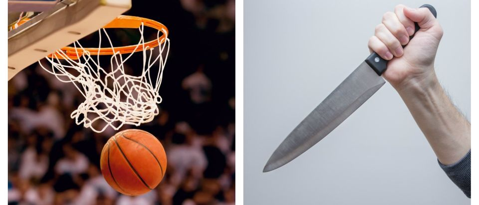 Two U.S. basketball players were stabbed in Romania Saturday.