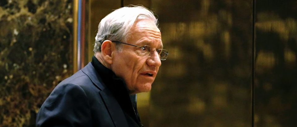 Bob Woodward arrives for meetings with U.S. President-elect Donald Trump at Trump Tower on Jan. 3, 2017 in New York. (Photo: KENA BETANCUR/AFP/Getty Images)