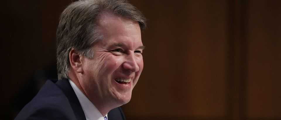 A man who accused Supreme Court nominee Brett Kavanaugh of sexually assaulting his friend has apologized. (Photo by Chip Somodevilla/Getty Images)