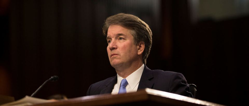 U.S. Supreme Court nominee Brett Kavanaugh testifies in Washington