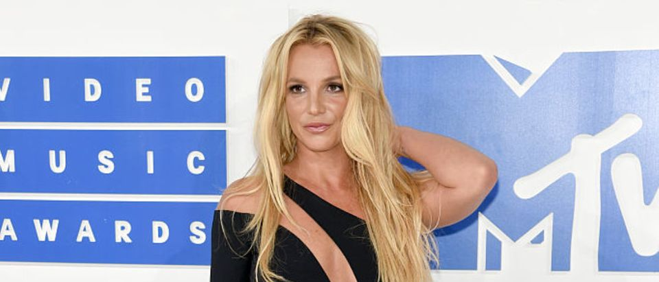 Britney Spears attends the 2016 MTV Video Music Awards at Madison Square Garden on August 28, 2016 in New York City. (Photo by Jamie McCarthy/Getty Images)