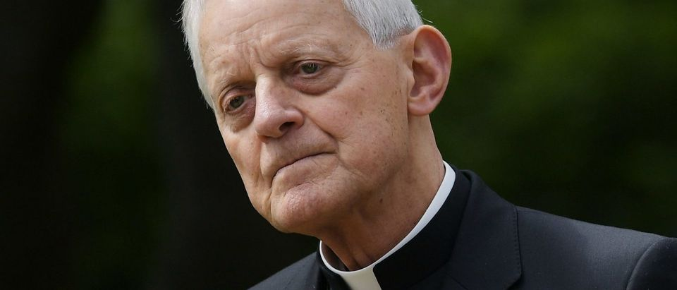 Archbishop of Washington Donald Wuerl attends a signing ceremony for an Executive Order on Promoting Free Speech and Religious Liberty in the Rose Garden of the White House on May 4, 2017 in Washington, D.C. (Photo: MANDEL NGAN/AFP/Getty Images)