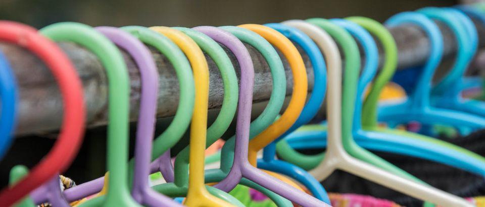 Nearly 3,000 coat hangers were sent to Sen. Susan Collins