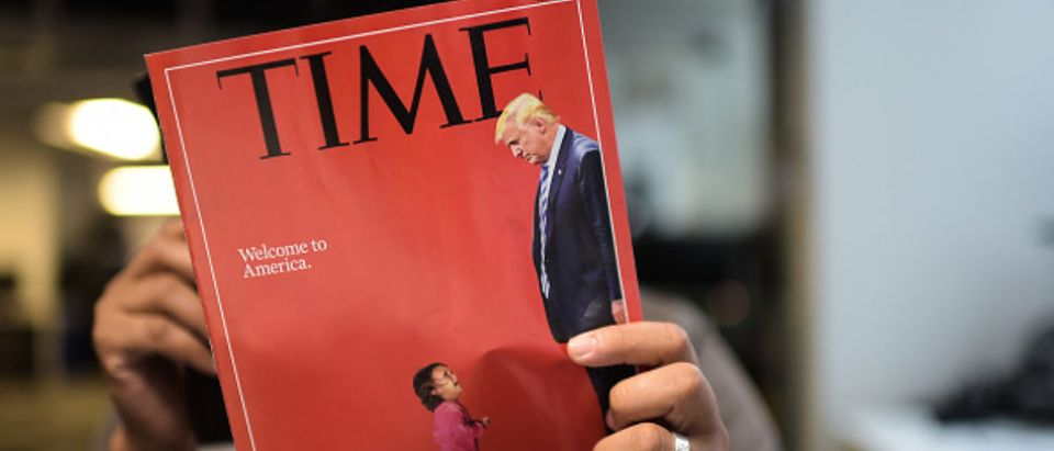 US-IMMIGRATION-MIGRANTS-TIME MAGAZINE-MEDIA-INTERNET