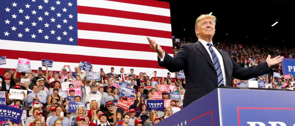 Trump holds a rally in Montana