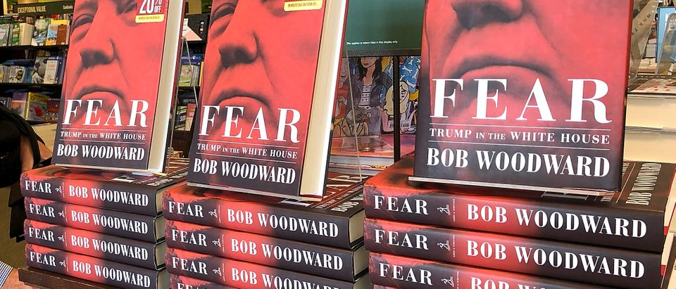 "Bob Woodward's Book ""Fear"" On Trump Administration Hits Store Shelves"