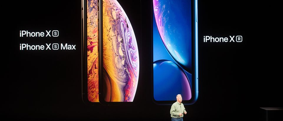 New iPhones set to be unveiled Wednesday offer Apple a chance for fresh momentum in a sputtering smartphone market as the California tech giant moves into new products and services to diversify. NOAH BERGER/AFP/Getty Images