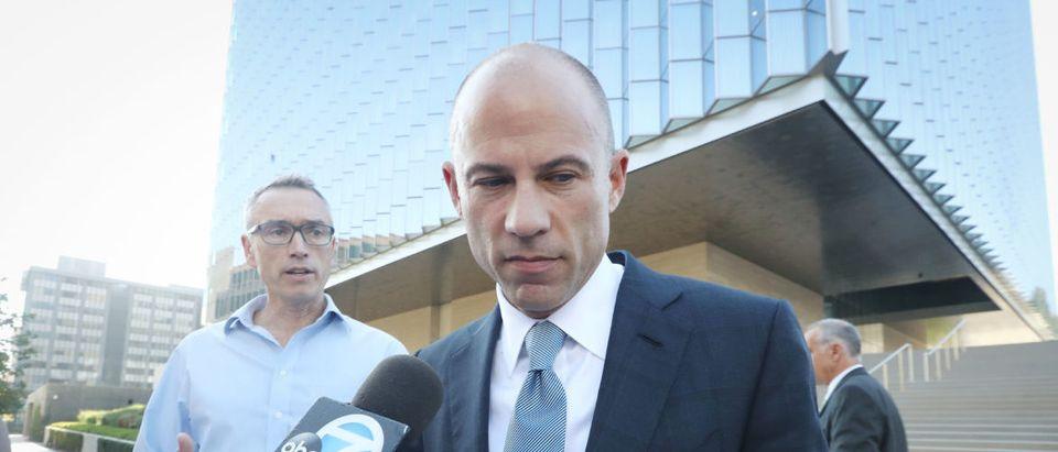Stormy Daniels' Lawyer Michael Avenatti Attends Status Hearing In L.A.