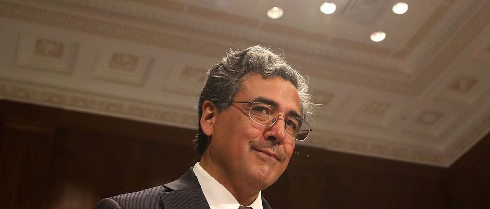 Solicitor General nominee, Noel Francisco attends his Senate Judiciary Committee confirmation hearing on Capitol Hill, on May 10, 2017 in Washington, D.C. (Photo by Mark Wilson/Getty Images)