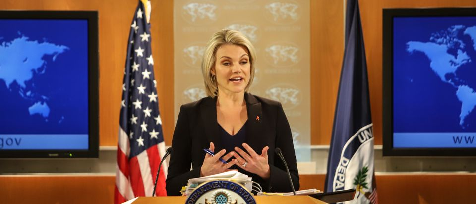 Spokesperson Heather Nauert Holds State Department Press Briefing