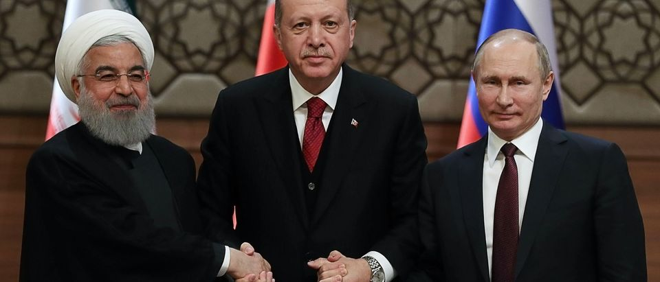 TOPSHOT-TURKEY-RUSSIA-IRAN-SYRIA-DIPLOMACY-CONFLICT