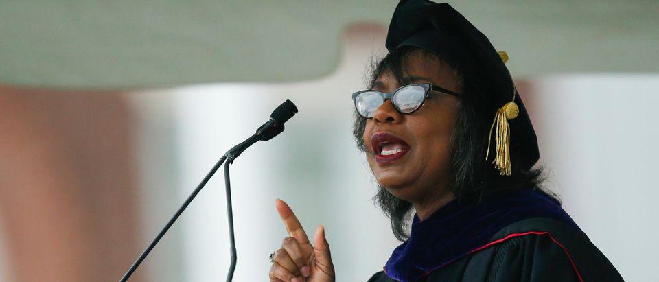 Law Professor Anita Hill Addresses Wesleyan Commencement Ceremony