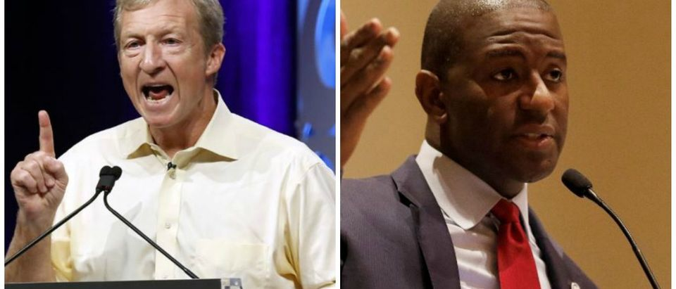 Andrew Gillum and Steyer Mashup