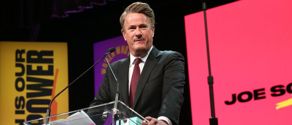 Joe Scarborough attends the 2018 Matrix Awards at Sheraton Times Square on April 23, 2018 in New York City. (Photo by Rob Kim/Getty Images)