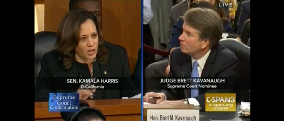 Kamala Harris Kavanaugh