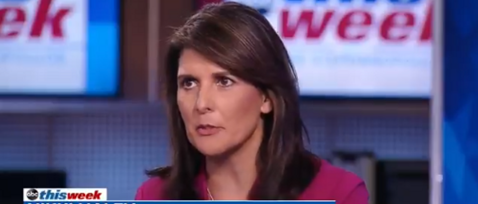 Nikki Haley on 25th Amendment (ABC screengrab)