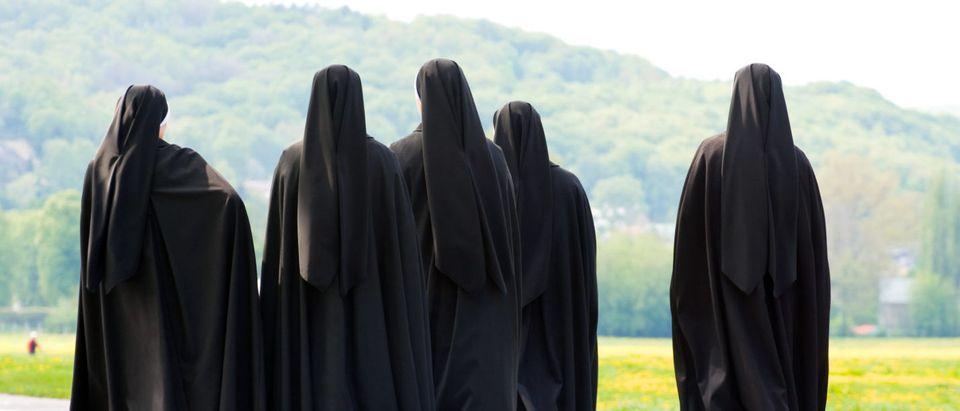 Nuns (Shutterstock/ Dziewul)