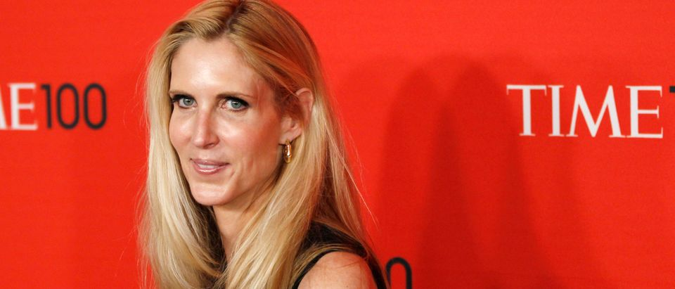 Political commentator Ann Coulter arrives at the 2011 Time 100 Gala ceremony in New York