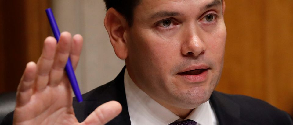 Rubio holds hearing about U.S. Embassy in Cuba on Capitol Hill in Washington
