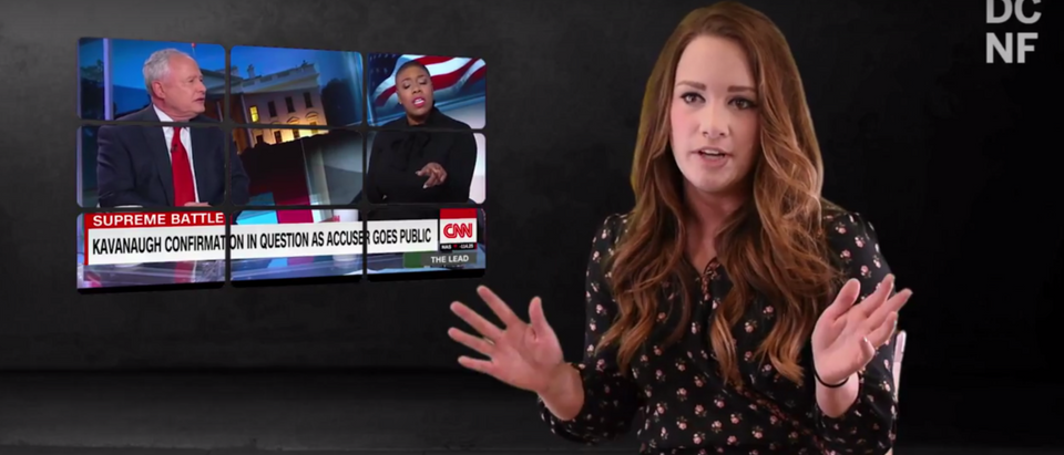 CNN's Symone Sanders says that she's convinced the accusation against Judge Brett Kavanaugh is true, and that regardless of what truth comes out, she's decided he's guilty. (DC YouTube)
