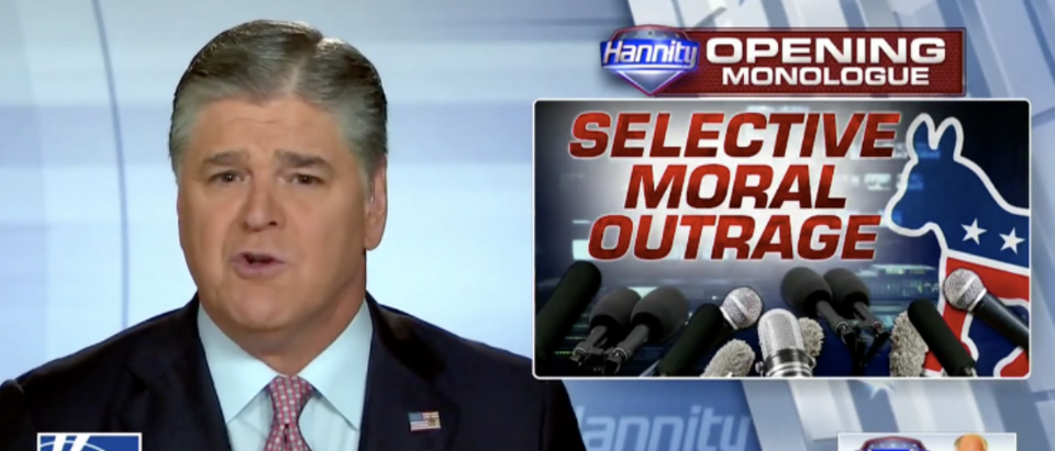 Hannity describing the Dr. Ford's lawyer's partisanship (Fox News 9/21/2018)