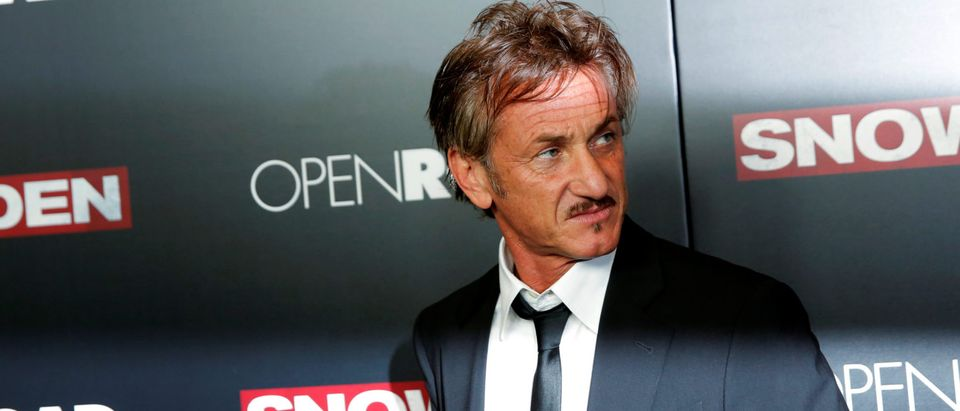 "Actor Sean Penn attends the premiere of the film ""Snowden"" in Manhattan, New York"