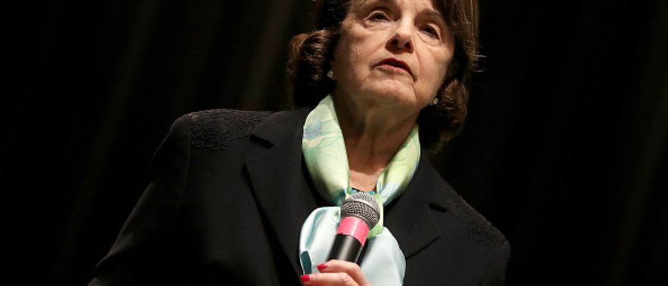 Sen. Dianne Feinstein (D-CA) Holds Town Hall Meeting In San Francisco