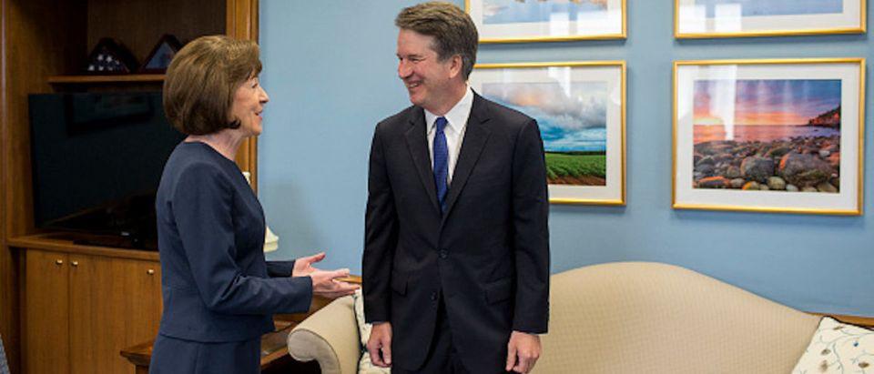 Supreme Court Nominee Brett Kavanaugh Meets With Democratic Senators On Capitol HIll