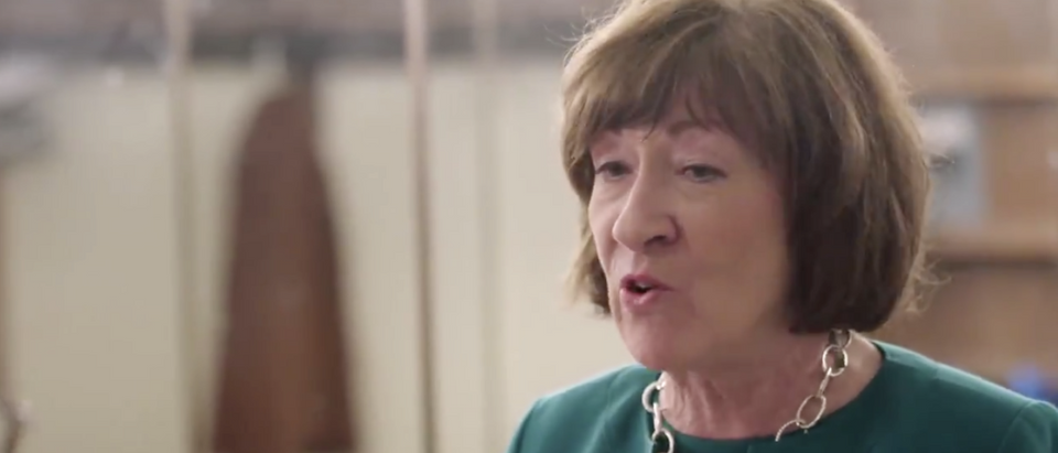 Susan Collins speaks to HBO's 'The Circus' in Sept. 2018. (Screenshot)