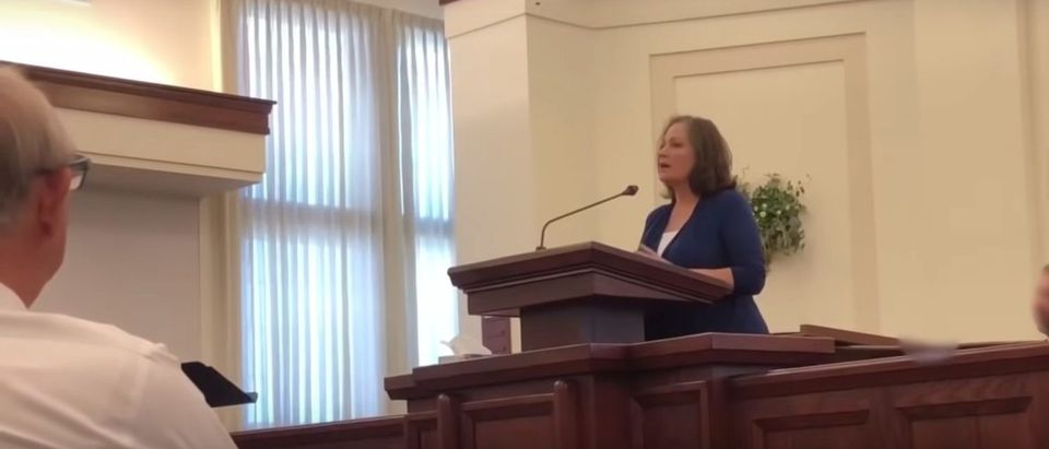 Woman confronts an LDS church over the cover-up of her alleged rape (Youtube/NewNameNoah)