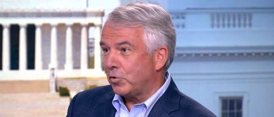 Bob Hugin discusses infrastructure in a video published July 5, 2018. YouTube screenshot/Bloomberg politics