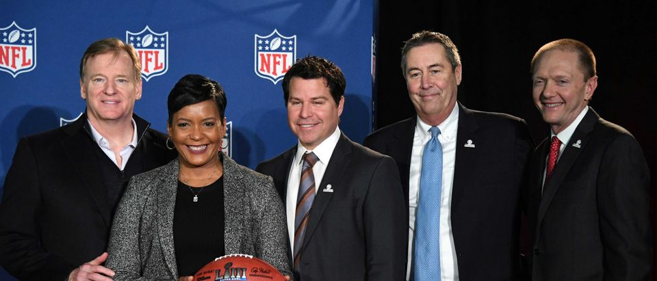 NFL: Super Bowl LIII Handoff Press Conference