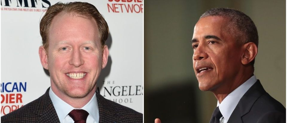Left: Rob O'Neill, Right: Barack Obama (Getty Images)