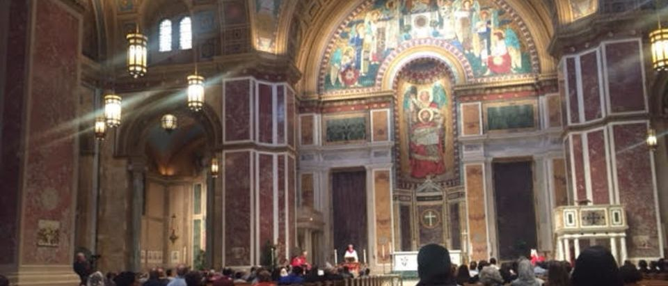 "Archbishop of Washington, D.C. Cardinal Donald Wuerl presided over a ""healing mass"" at St. Matthew's Cathedral on Friday to usher in a ""season of healing"" for survivors of abuse and the Catholic Church. (Jessica Kramer)"
