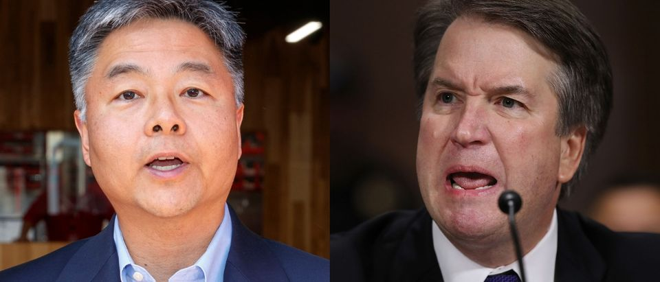 California Democratic Rep. Ted Lieu wants lawmakers to consider impeaching Judge Brett Kavanaugh. Rich Polk/Getty Images for MedMen Enterprises and Win McNamee/Getty Images