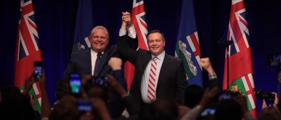Doug Ford and Jason Kenney