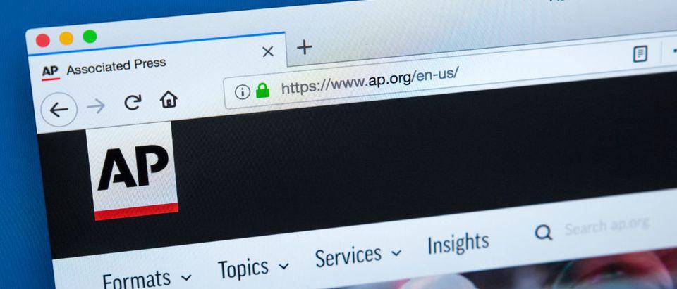 Associated Press websites (Shutterstock photo)