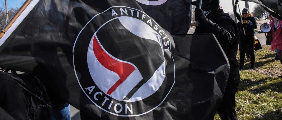 Antifa is a violent left-wing movement. Photo: REUTERS/Stephanie Keith