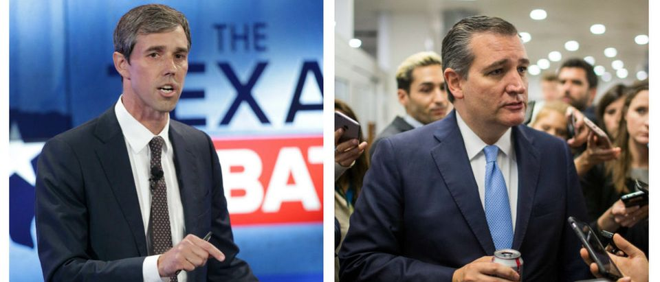 Beto O'Rourke And Ted Cruz Side By Side Getty Images -- Tom Reel and Zach Gibson