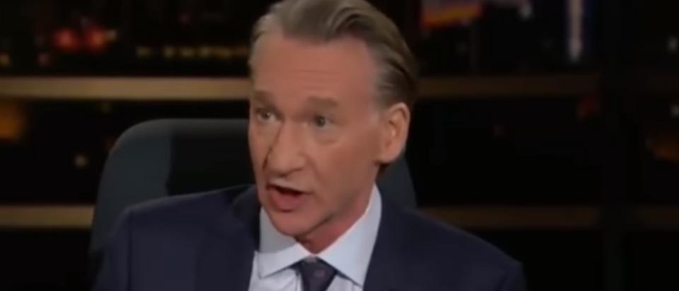 Bill Maher hammers media for caravan coverage (HBO screengrab)