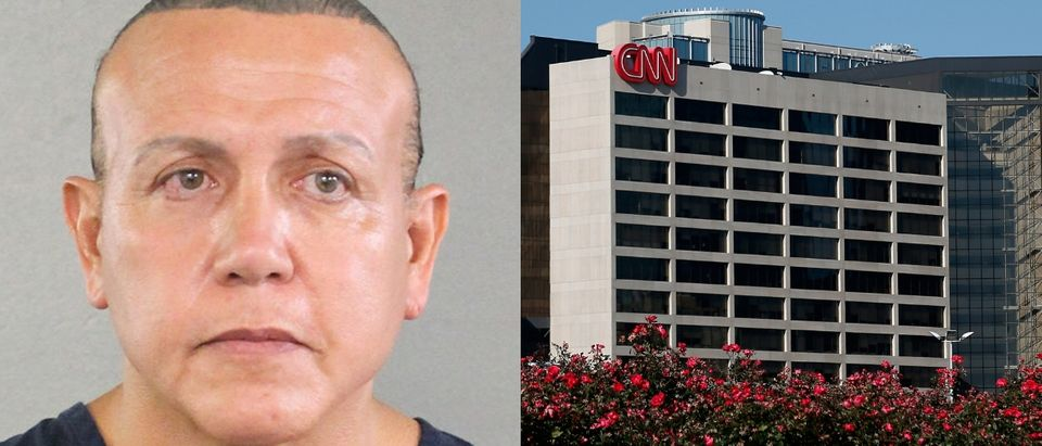 Authorities believe Cesar Sayoc may have mailed a 15th package to CNN's worldwide headquarters in Atlanta. Broward County Sheriff's Office via Getty Images and Kevin C. Cox/Getty Images