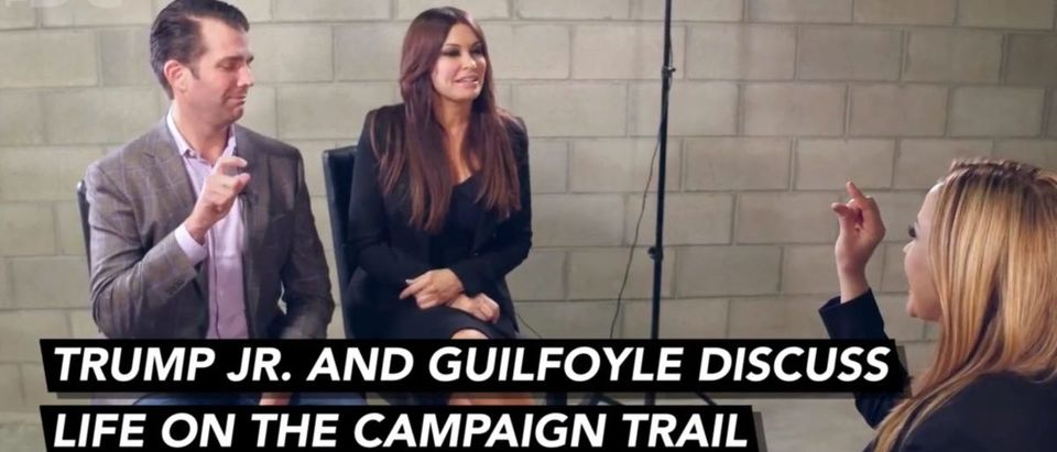 Donald Trump Jr. Kimberly Guilfoyle Discuss Life On the Campaign Trail