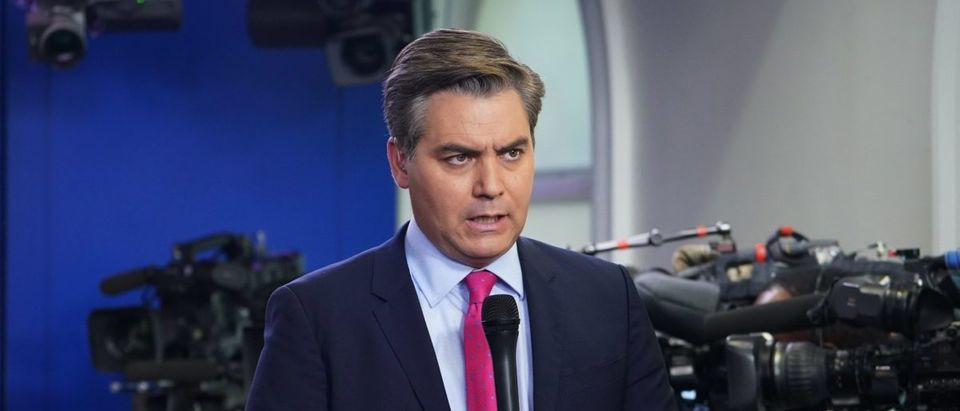 CNN chief White House correspondent Jim Acosta sent a vulgar Twitter direct message to a former Trump White House staffer (MANDEL NGAN/AFP/Getty Images)