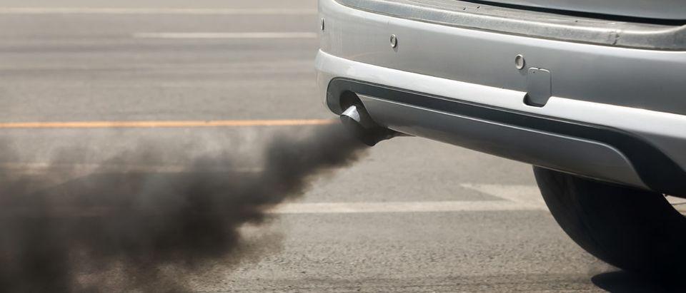 Car Fumes. Shutterstock