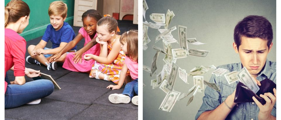 Parents on average spent at least $9,000 on childcare in 2017.