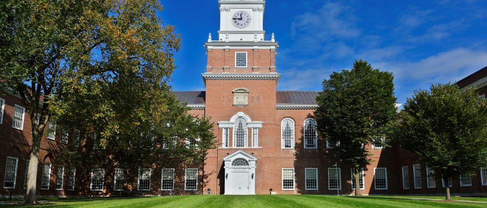 Pictured is Dartmouth College. (Jay Yuan/ Shutterstock)
